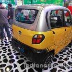 Bajaj RE60 Auto Expo 2014 rear yellow