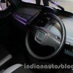 Bajaj RE60 Auto Expo 2014 steering wheel