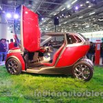 Bajaj U-Car Concept door open