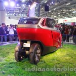 Bajaj U-Car Concept rear three quarter view