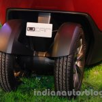 Bajaj U-Car Concept rear wheel