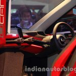 Bajaj U-Car Concept steering wheel