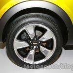 Chevrolet Adra Concept Front Wheel at Auto Expo 2014