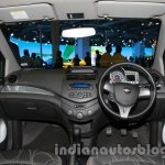 Chevrolet Beat Facelift Full Dashboard at 2014 Auto Expo