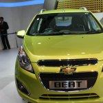 Chevrolet Beat facelift front live