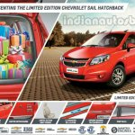 Chevrolet Sail U-VA Limited Edition IAB image