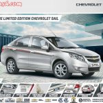 Chevrolet Sail limited edition brochure