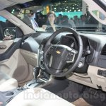 Chevrolet TrailBlazer cockpit live