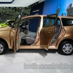 Datsun Go+ doors open at Auto Expo 2014
