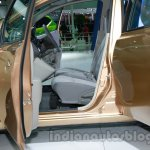 Datsun Go+ front seats at Auto Expo 2014