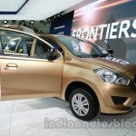 Datsun Go+ front three quarters at Auto Expo 2014