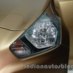 Datsun Go+ headlamp at Auto Expo 2014
