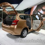 Datsun Go+ rear three quarters rightat Auto Expo 2014