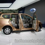 Datsun Go+ side at Auto Expo 2014