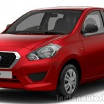 Datsun Go press shot red