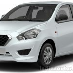 Datsun Go press shot white