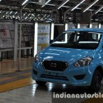 Datsun Go roll out from Oragadam plant in Chennai