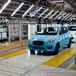 Datsun Go start of production