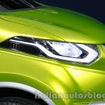 Datsun Redi-Go headlamp detailing at Auto Expo 2014