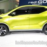 Datsun Redi-Go side at Auto Expo 2014