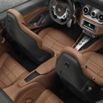 Ferrari California T seats
