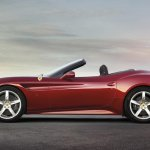 Ferrari California T top down
