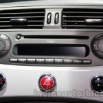 Fiat 500 Abarth aircon vents at Auto Expo 2014