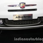 Fiat 500 Abarth airdam at Auto Expo 2014