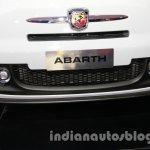 Fiat 500 Abarth airdam at Auto Expo 2014