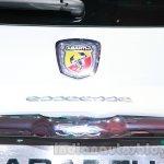 Fiat 500 Abarth badge at Auto Expo 2014