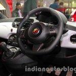 Fiat 500 Abarth cockpit at Auto Expo 2014