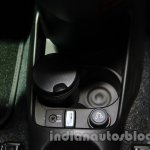 Fiat 500 Abarth cupholder at Auto Expo 2014