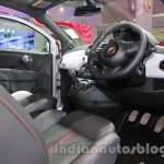 Fiat 500 Abarth driver controls at Auto Expo 2014