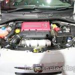 Fiat 500 Abarth engine at Auto Expo 2014