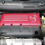 Fiat 500 Abarth engine bay at Auto Expo 2014