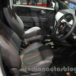 Fiat 500 Abarth front seats at Auto Expo 2014
