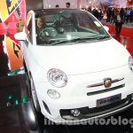 Fiat 500 Abarth front three quarters at Auto Expo 2014