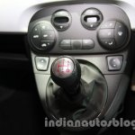 Fiat 500 Abarth gear lever at Auto Expo 2014