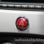 Fiat 500 Abarth hazard light switch at Auto Expo 2014