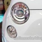 Fiat 500 Abarth headlamp at Auto Expo 2014