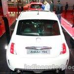 Fiat 500 Abarth rear at Auto Expo 2014
