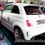 Fiat 500 Abarth rear three quarters at Auto Expo 2014