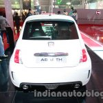 Fiat 500 Abarth rear view at Auto Expo 2014