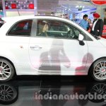 Fiat 500 Abarth side at Auto Expo 2014