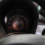 Fiat 500 Abarth speedometer at Auto Expo 2014
