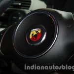 Fiat 500 Abarth steering at Auto Expo 2014