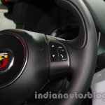 Fiat 500 Abarth steering controls at Auto Expo 2014