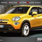 Fiat 500X IAB Rendering