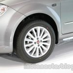 Fiat Linea facelift alloy wheel design at Auto Expo 2014
