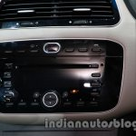 Fiat Linea facelift center console at Auto Expo 2014